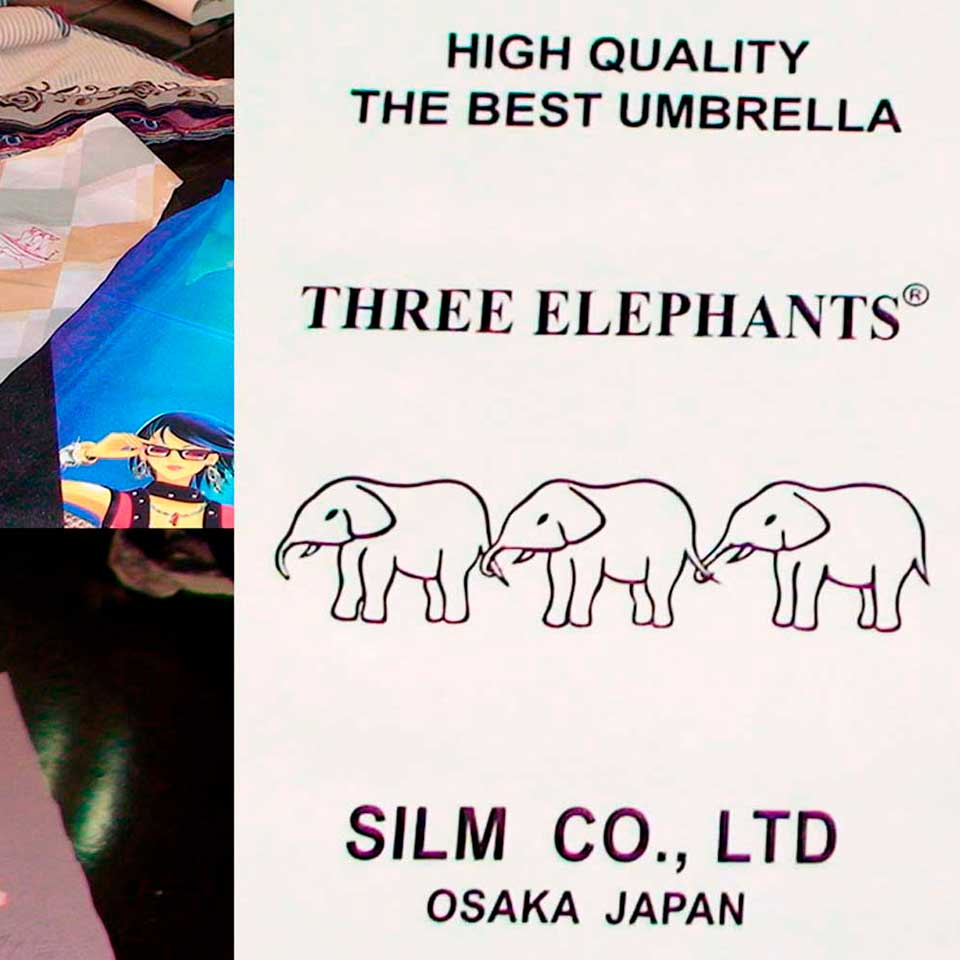 Блог интернет магазина зонтов Зонты Три Слона. Торговая марка Three-Elephants