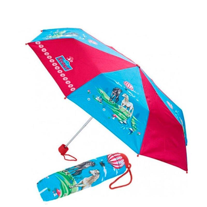 Детский зонт складной с рисунком