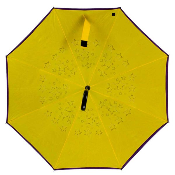 Женский зонт трость наоборот