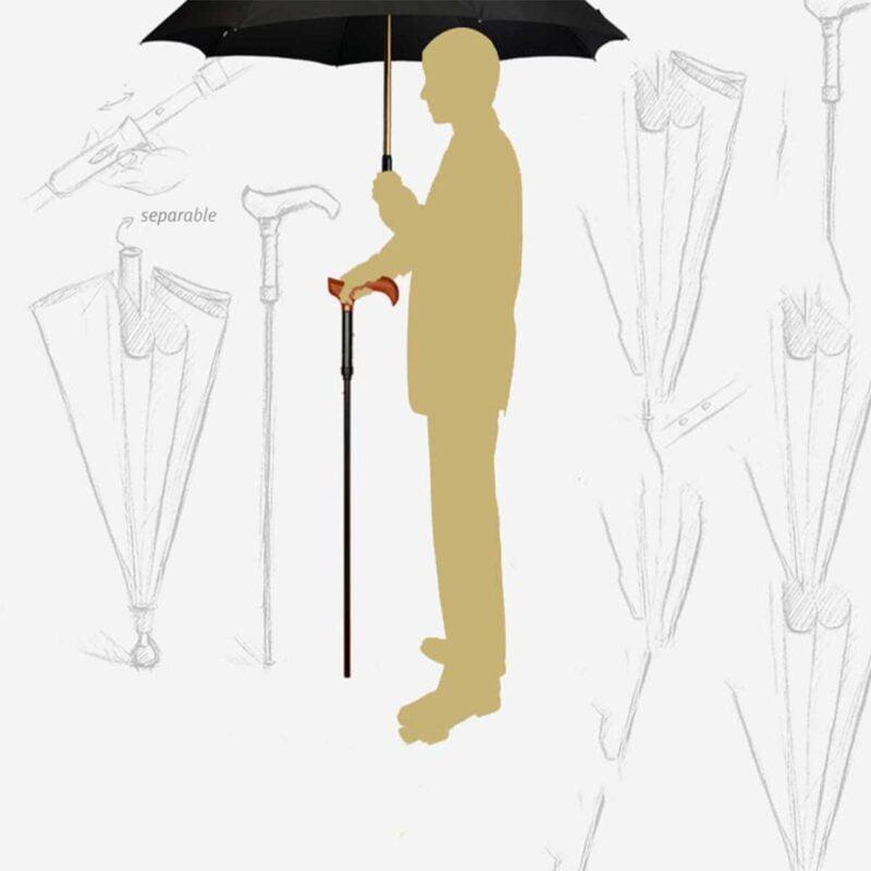 Зонт трость ортопедическая для ходьбы