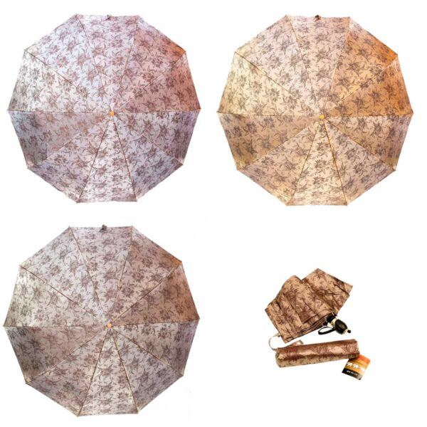 Женские зонты полный автомат жаккард